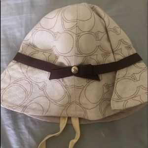 "Coach ""bucket"" hat"